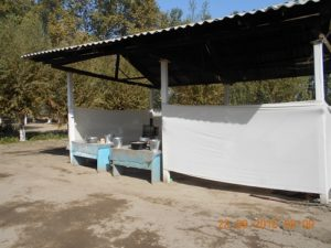 Tashkent region. Buka district, Bahmal village. school no.47 kitchen of medical employees
