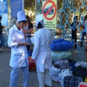Mobilization of medical workers to the fields 2015 © UGF