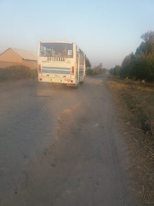 Mobilization to the cotton fields in Samarkand © UGF 2017